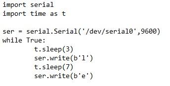 RPi Serial Code