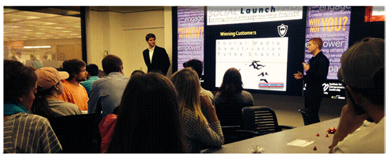 Clemson's Spiro Institute for Entrepreneurial Leadership hosts Social Launchpad event