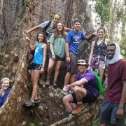 Students travel to Dominica during spring break to study its environment