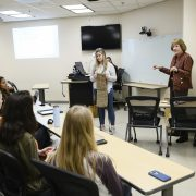 Dr. Nancy Meehan and her team of students are providing modern solutions to issues in healthcare